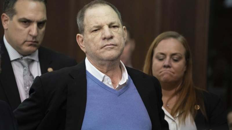 In this May 25, 2018 file photo, Harvey Weinstein listens during a court proceeding in New York. —AP