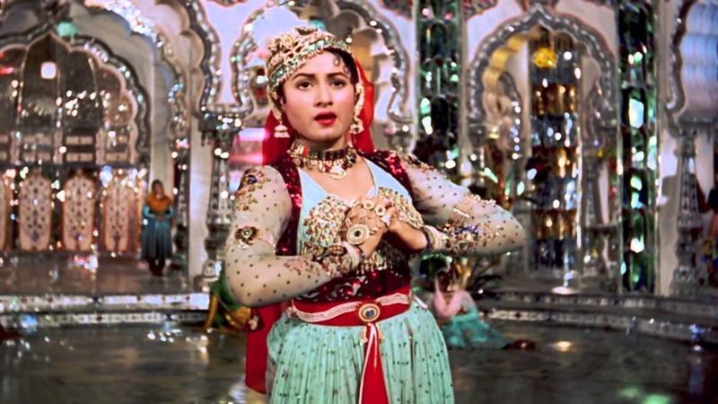 A scene from Mughal-e-Azam's timeless track 'Pyar Kiya Tou Darna Kiya'