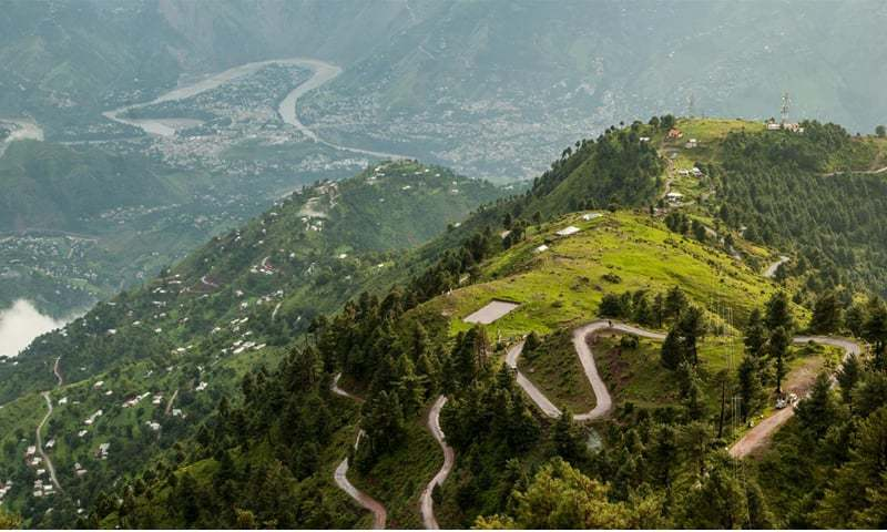 A view of Pir Chinasi Road from Muzaffarabad | Photos provided by the writer