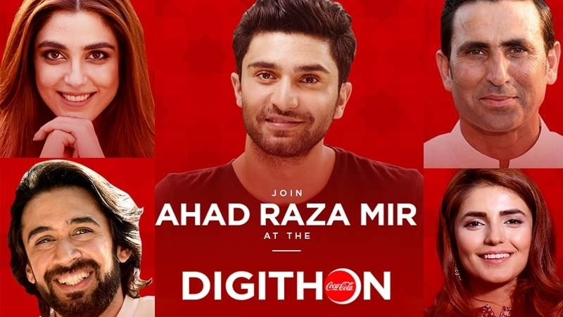 The Digithon will be live on Coca Cola's official facebook page on 5th of June from 4pm to 6pm.