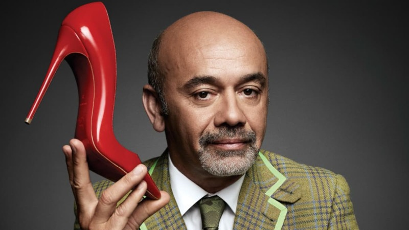 The luxury shoe designer took shoe maker Van Haren to court in 2012 after Van Haren sold similar red-soled shoes.  Image courtesy—Stockland Martel Blog