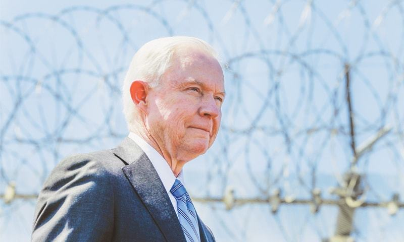 US Attorney General Jeff Sessions.—AP
