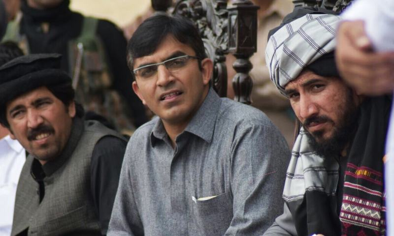 PTM leader Mohsin Dawar. — Photo courtesy Dawar's Twitter profile.