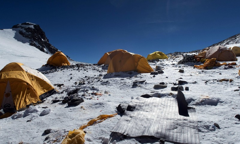 Image result for Everest Has Turned into the Highest-Altitude Rubbish Dump on the Planet