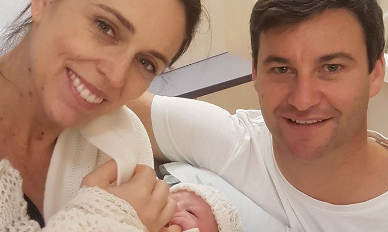 NZ PM Jacinda Ardern praises midwife as she adjusts to motherhood