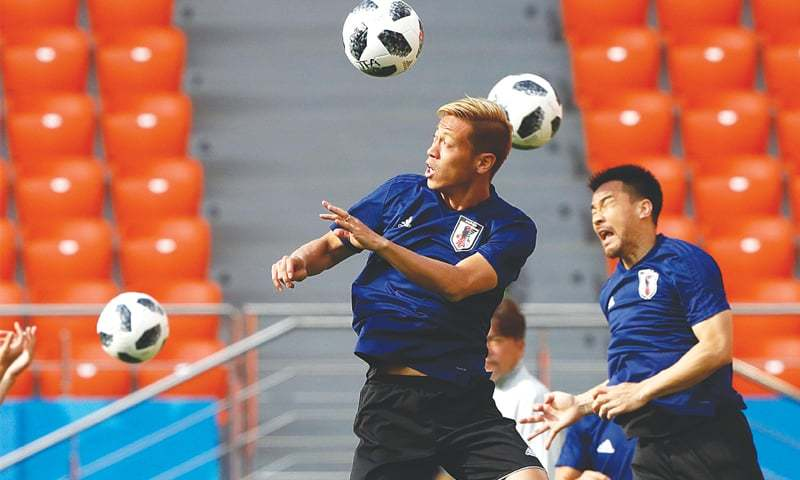 Attacking Japan in Pole position to progress
