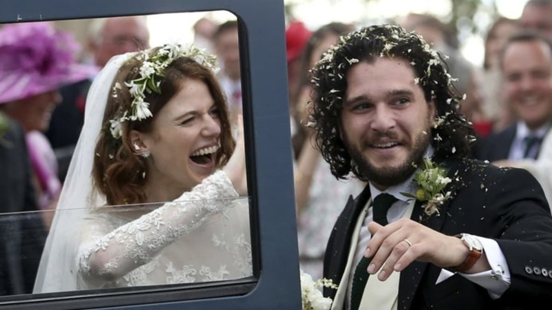 Don't worry, this Game of Thrones wedding was a happy one!