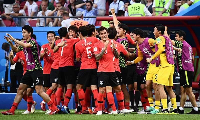 Germany knocked out of World Cup after South Korea loss