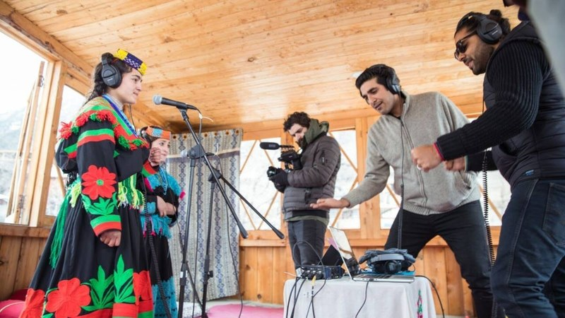 Recording with Ariana and Amrina in Kalash — All photos by Insiya Syed