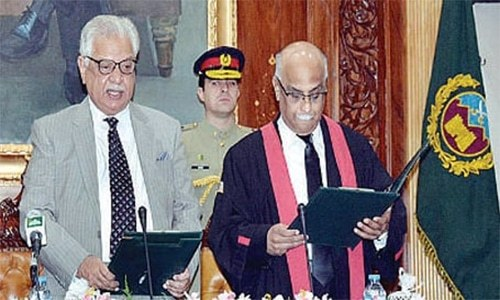 PHC gets new chief justice - Pakistan - DAWN COM