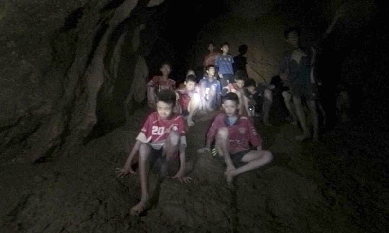 Thai official says boys may be taken out of cave in stages