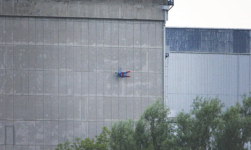 Greenpeace activists fly 'Superman' drone in to French nuclear site