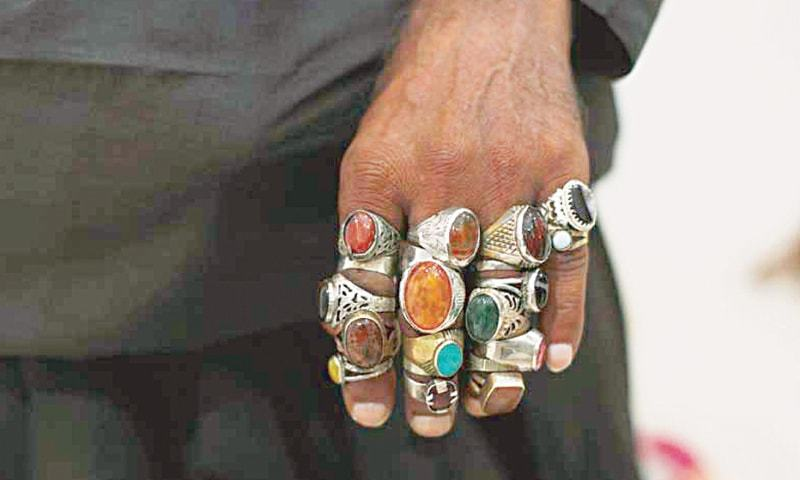 Whatever ails thee, there is probably one ring or the other to fix it all | Dawn file photo