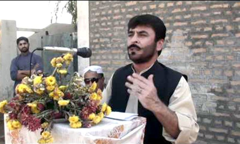 Slain BAP leader Nawab Siraj Raisani. —DawnNewsTV