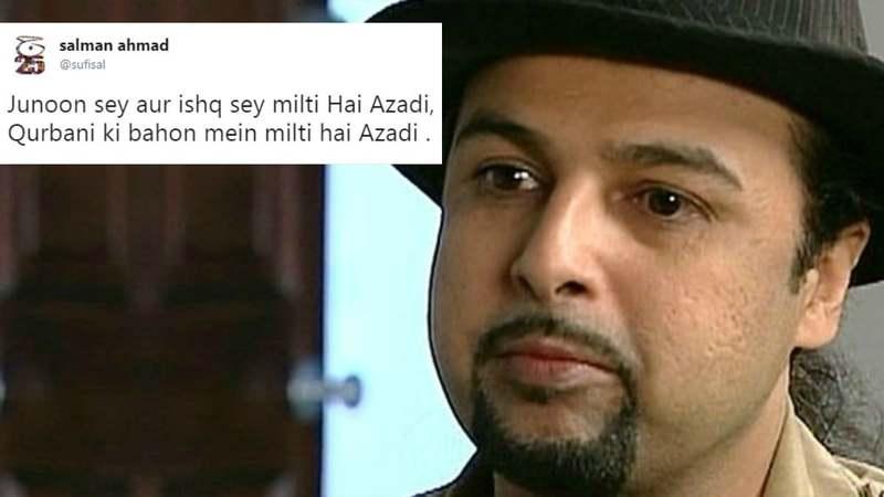 Salman Ahmad defends his tweet on Mastung massacre after