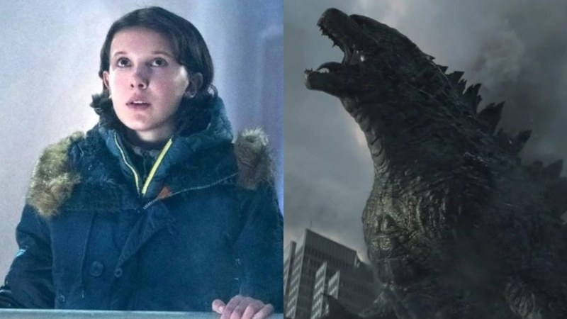 Creepy new Godzilla movie teaser shows Millie Bobby Brown in trouble