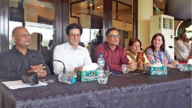 The book launch for 'Being Pakistani' was hosted by Kuch Khaas and took place on Thursday