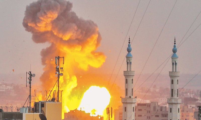 Hamas accepts cease-fire after massive Israeli onslaught on militant positions