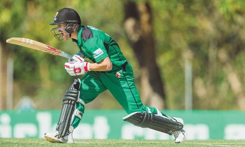 DAVID Warner in action for City Cyclones during the Northern Territory Strike League match at the Marrara Oval on Saturday.—Courtesy CA