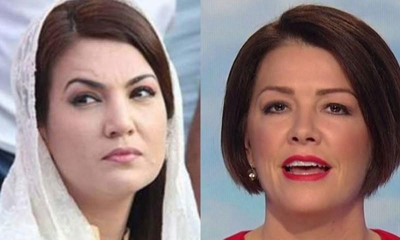 امریکی صحافی نے عمران خان کی سابقہ اہلیہ کو انٹرویو میں مدعو کیا تھا—اسکرین شاٹ/ فائل فوٹو: فیس بک
