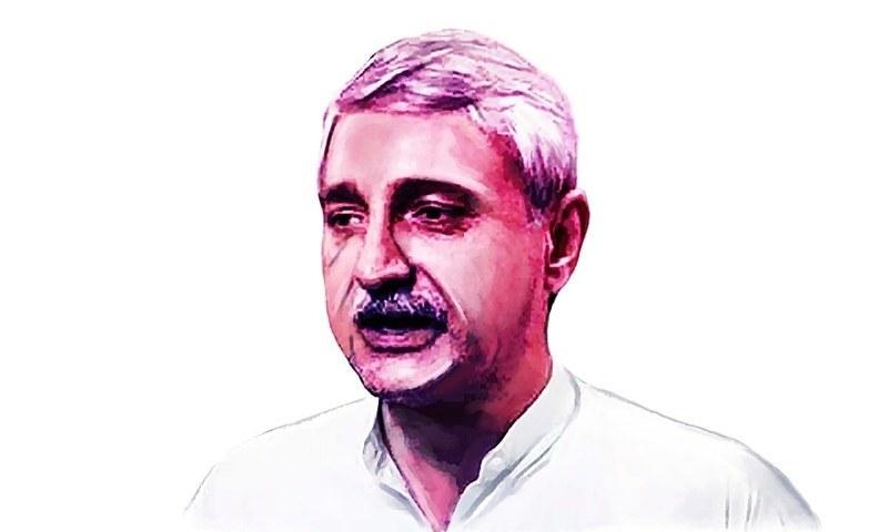 جہانگیر ترین پی ٹی آئی کے لیے انتخابات میں اہم کردار ادا کررہے ہیں— خاکہ آن عباس