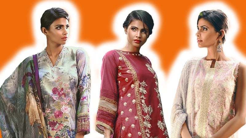 We're picking stuff off Bonanza Satrangi's latest Khoob collection and playing around with few styling options