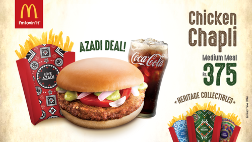 McDonald's Azadi campaign focuses on tradition, heritage and the love of food.