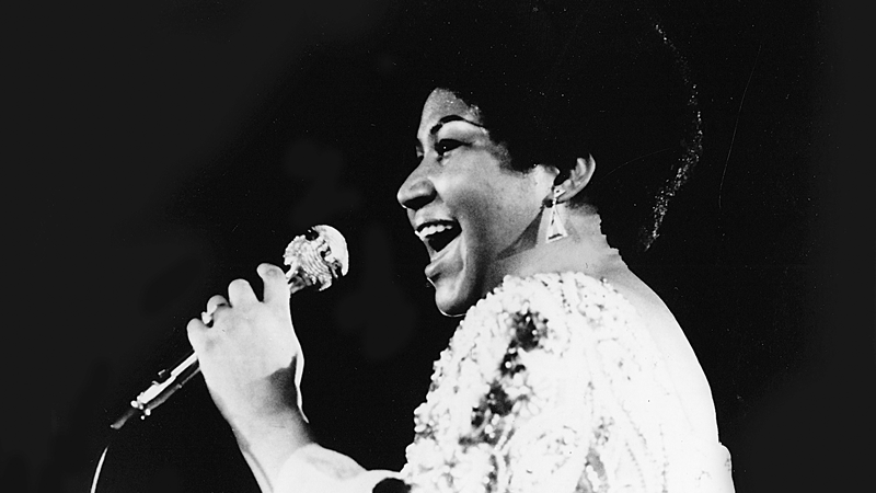 Aretha Franklin in Muscle Shoals