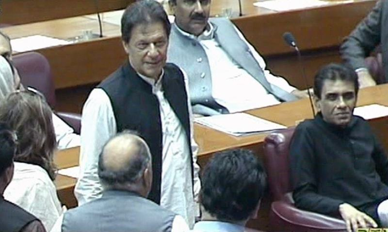Lawmakers start gathering in assembly to elect 22nd prime minister of Pakistan