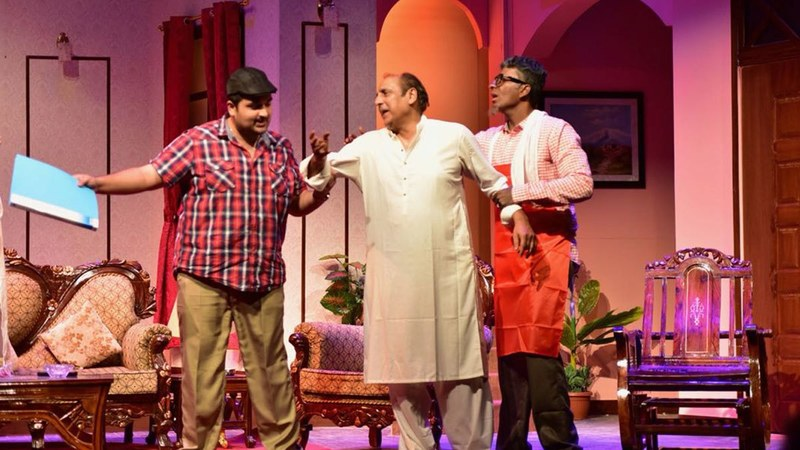 Maqsood's most recent script, titled Kyun Nikala? and currently being staged in Karachi by KopyKats Productions, is hauling in considerable profits