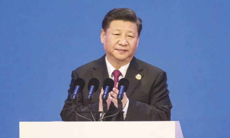 Chinese President Xi Jinping applauds ahead of delivering a speech at the Boao Forum for Asia Annual Conference in Boao, China, on April 10.—Bloomberg