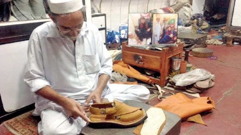 d9b2eed02890 How PM Imran Khan s Kohati chappals boost business for Chakwal s shoemakers  - Style - Images