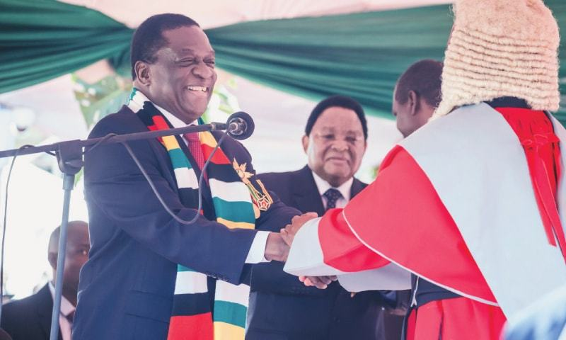 Court clears road for Mnangagwa's inauguration, Chamisa loses case
