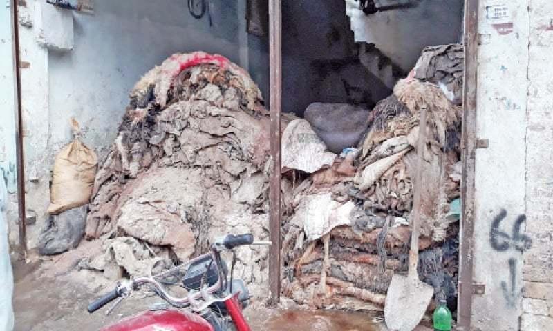 A hides dump in Kohat. — Dawn