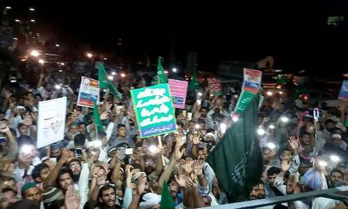 TLP rally heads towards the capital via G.T. Road — DawnNewsTV