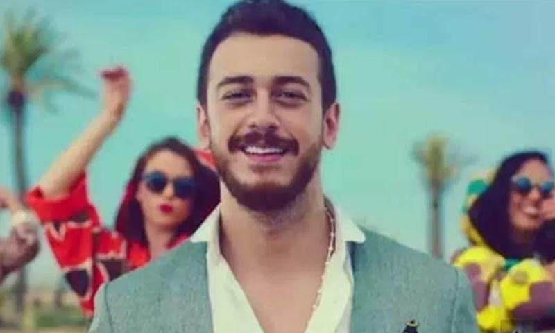 سعدالمجرد مراکش کے معروف گلوکار ہیں—اسکرین شاٹ