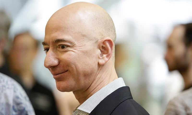 Amazon's Jeff Bezos rockets to richest person on the planet