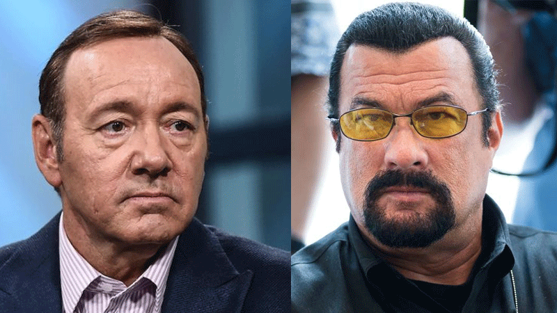 The case for the action-movie star Seagal, who was accused of assaulting an 18-year-old acquaintance in 1993, was also abandoned on the same grounds.