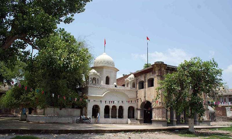At the Beri Sahib gurdwara in Sialkot stands a berry tree that has acquired special significance because of its connection with Guru Nanak. — Iqbal Qaiser
