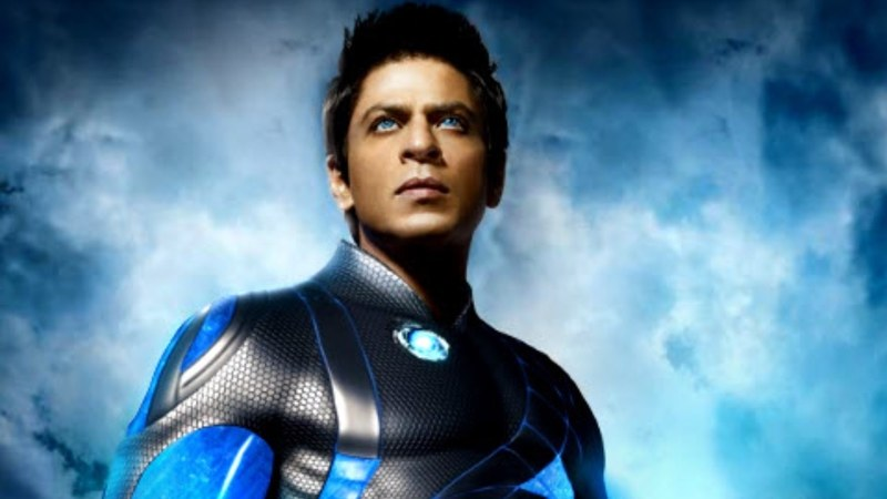 Hey, SRK's got some superhero experience for sure. Who remembers Ra.One? (Juuuust kidding)
