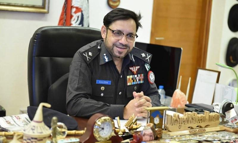 آئی جی سندھ پولیس ڈاکٹر سید کلیم امام نے عہدے کا چارج سنبھال لیا — فوٹو: بشکریہ سندھ پولیس ویب سائٹ