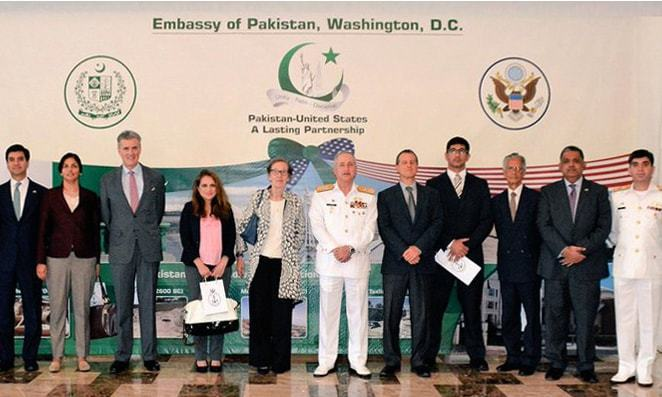"US suspension of aid is not a ""life or death situation"" for Pakistan, says Admiral Abbasi. —Navy PR"