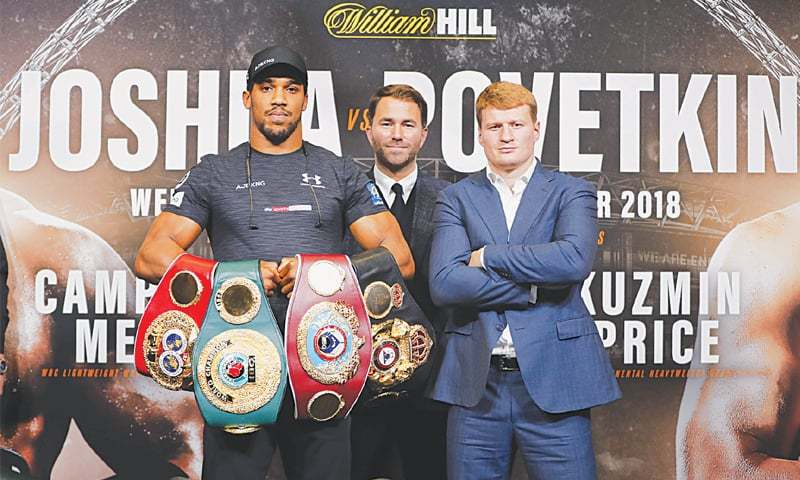 Anthony Joshua Remains Undefeated, Lays Waste To Alexander Povetkin