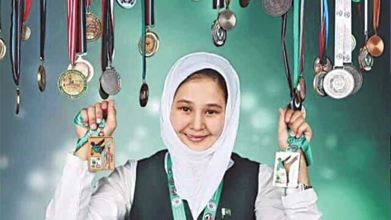 Nargis, who hails from Hazara Town in Quetta is the eldest of four children.