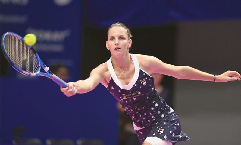 Pliskova beats Osaka to win Pan Pacific Open