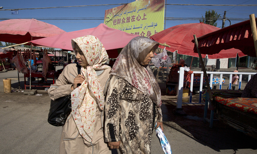 Beijing has faced an outcry over strict surveillance of the mostly Muslim Uighur minority, and other Muslim groups.— AP/File