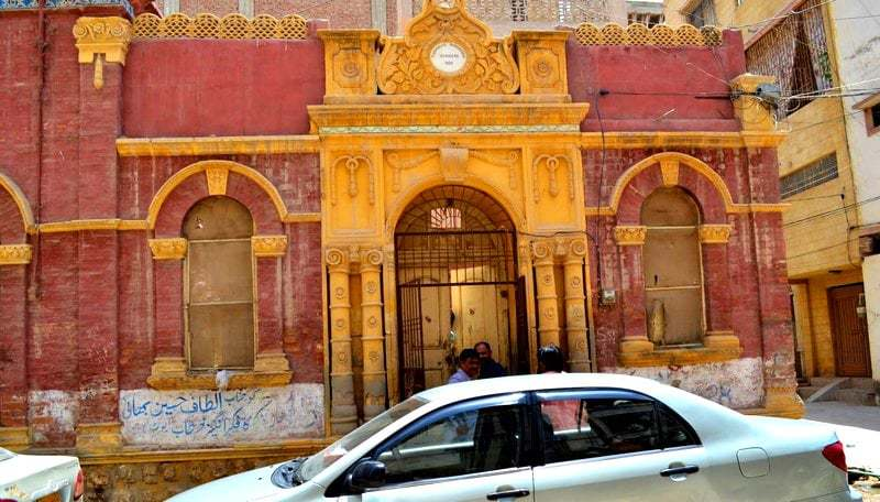 Topandas Jaisingh Sahani's house before it was demolished. Photo credit: Zahida Rehman Jatt