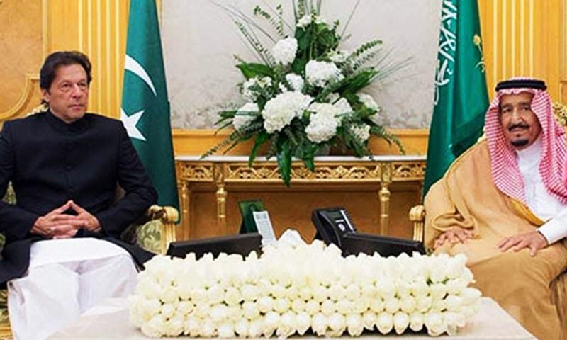 Prime Minister Imran Khan had called on King Salman bin Abdul Aziz on Sept 19.— PID/File