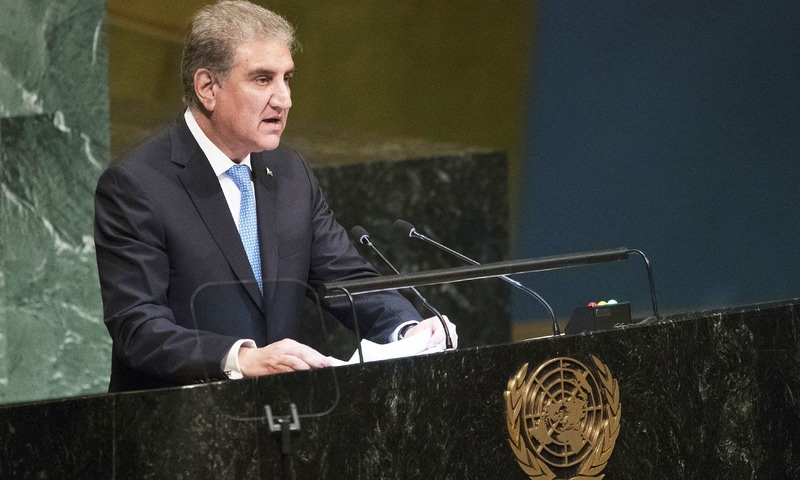 At UN, Pakistan bashes India for 'politics over peace'