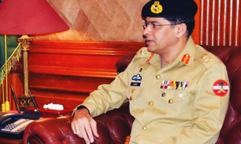 Spymaster Lt Gen Naveed Mukhtar.— APP